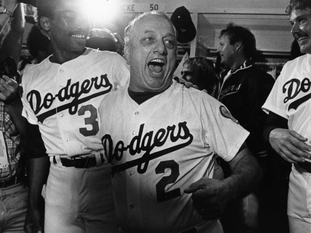 Plaschke: Tommy Lasorda loved the Dodgers so much, he became the Dodgers