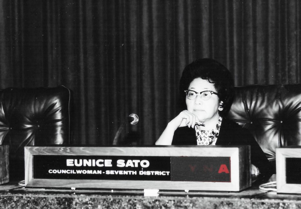 Eunice Sato, first female and only Asian American mayor of Long Beach, dies at 99