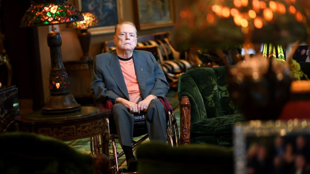 Larry Flynt, who built a porn empire before becoming a 1st Amendment champion, dies at 78