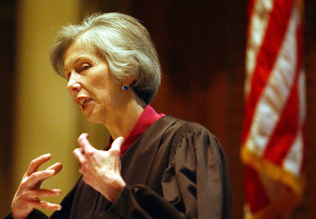 Mary Mullarkey, the first woman to serve as Colorado Supreme Court chief justice, has died at 77