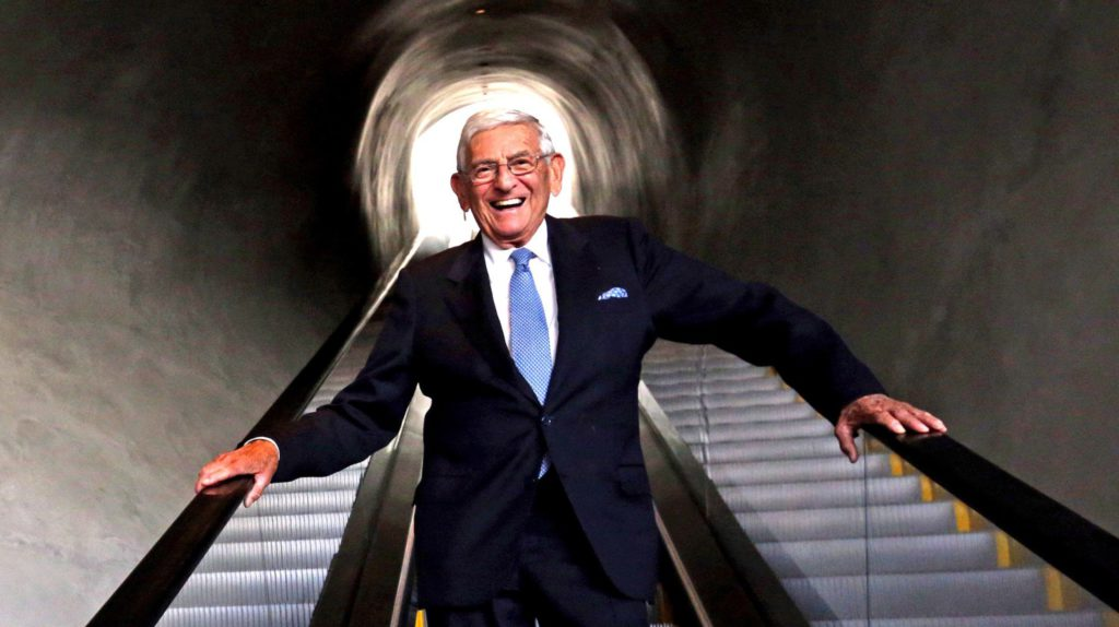 Eli Broad, billionaire who poured wealth into reshaping L.A., dies at 87