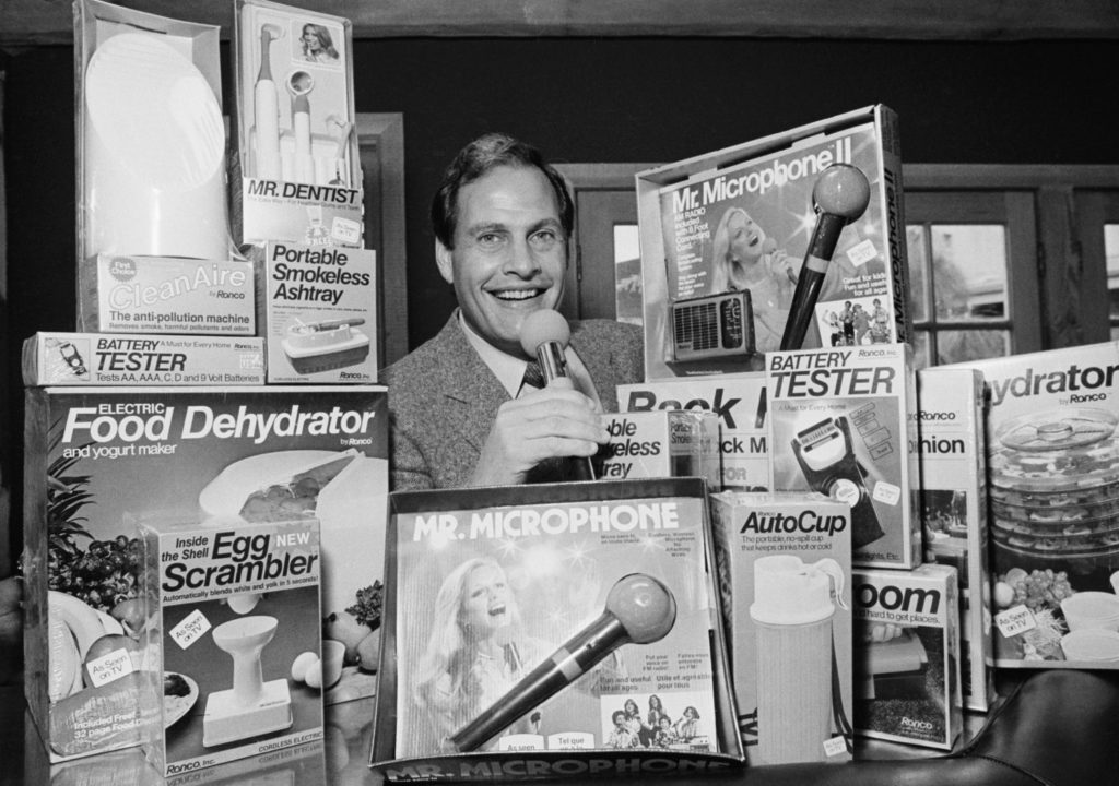 Ron Popeil, TV pitchman who hawked Veg-O-Matic, Mr. Microphone and more, dies